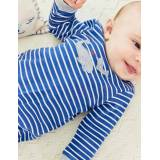 Baby Blue Strampler mit Wal-Applikation Baby Baby Boden