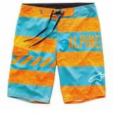 Alpinestars Insignia Board Shorts Orange/Blau