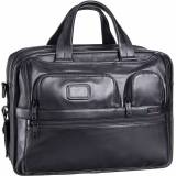 Tumi Aktentasche Alpha 2 Leather Business 96141 Aktentasche Black