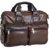 Tumi Aktentasche Bravo Leather 92640 Aktentasche Dark Brown