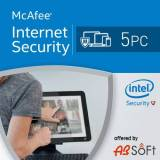 McAfee Internet Security 2017 5 PC