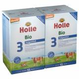 Holle baby food GmbH Holle Bio-Folgemilch 3 Doppelpack (2x600 g) - Pulver - Holle baby food GmbH