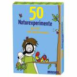 50 Naturexperimente Kinder - blau /  - Outdoor-Spiele