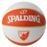 Spalding EL Team Belgrad Basketball, weiß / orange