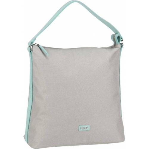 BREE Handtasche »Limoges 5«, Light Grey/Light Blue