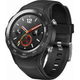 Huawei Watch 2 LTE Smartwatch, Android Wear 2.0™, 3,05 cm (1,2 Zoll) AMOLED-Touchscreen Display, Schwarz