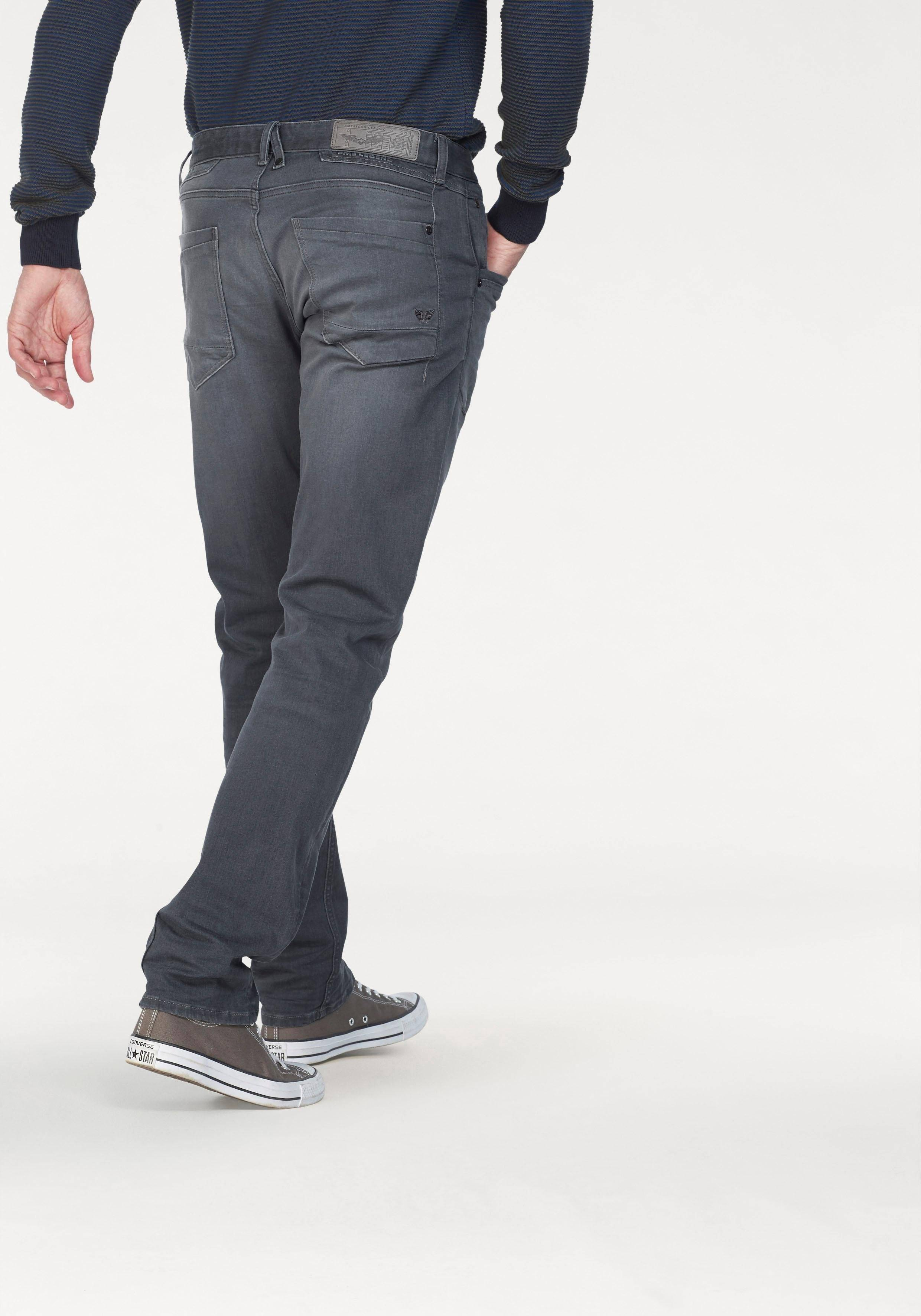 PME LEGEND Straight-Jeans »CURTIS«, faded-grey