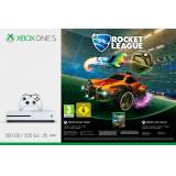 Xbox One S 500GB - Rocket League Bundle (DLC), 4K Ultra HD, weiß