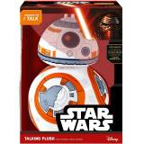 Plüschfigur mit Sound, »Disney Star Wars™, Deluxe, BB8, ca. 38 cm«, weiß/orange