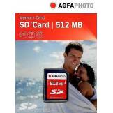 Agfa Photo Sd Karte 512 Mb Secure Digital Memory Card