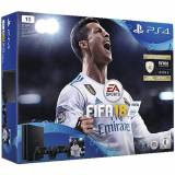 Sony PS4 Playstation 4 Grundgerät Slim 1 TB + Fifa18 + 2.Controller