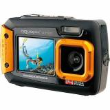 easypix Unterwasser Digitalkamera Aquapix W1400 Active - schwarz/orange