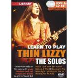 Roadrock International - Lick Library: Learn To Play Thin Lizzy - The Solos DVD