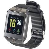 simvalley Mobile Handy-Uhr/Smartwatch mit Kamera, Bluetooth 4.0, iOS & Android