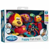 Playgro Gaveæske - Puppy Fun Pack - Playgro (4 dele)
