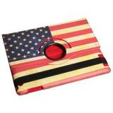 Apple iPad 2-3-4 cover med patineret USA flag