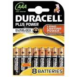 Duracell Plus Power AAA 8 stk Batterier