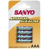 SANYO Advanced Alkaline AAA / LR03 / Micro batterier (4 stk.)
