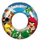 Bestway Angry Birds Swim Ring - 36 inch, Multi-Colour