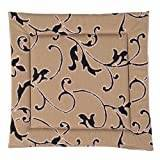 Apart 100254-38382A-523 Outdoor Chair Cushion with Floral Design