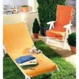 Dyckhoff Lounger Protective Cover, Yellow, 70x 200cm