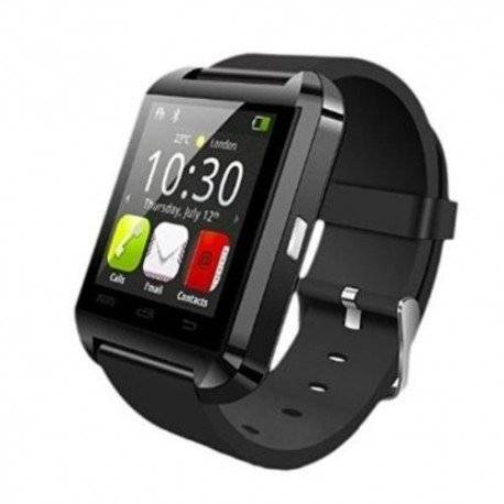 Swiss-Pro Kloten - Reloj inteligente (Bluetooth 3.0, IPS) color negro