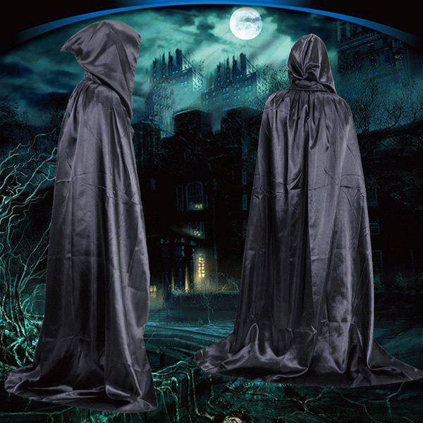 rosegal Halloween Party Supply Cosplay Death Hooded Cloak Costume
