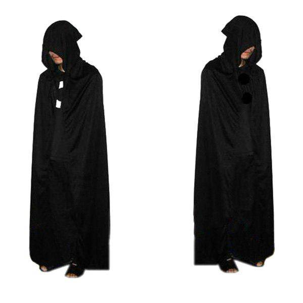 rosegal Halloween Supplies Cosplay Party Hooded Death Cloak Costume