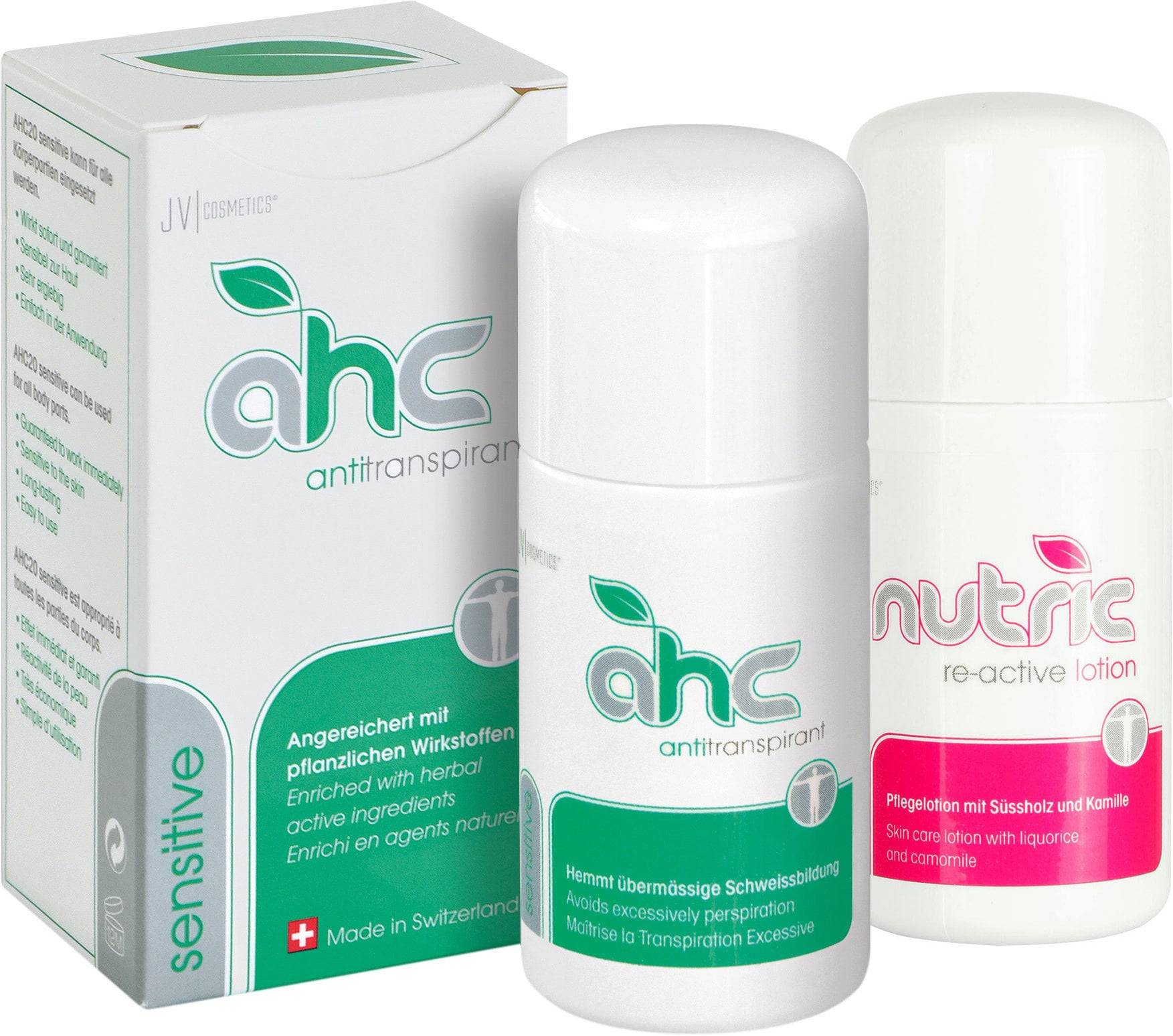 JV Cosmetics AHC Sensitive® & Nutric Lotion®