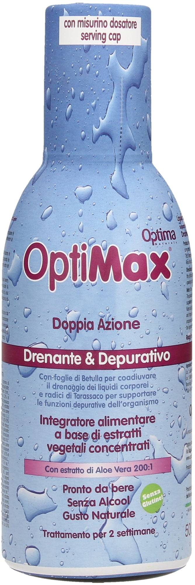 Optima Naturals Optimax Limpieza & Drenaje - 500 ml