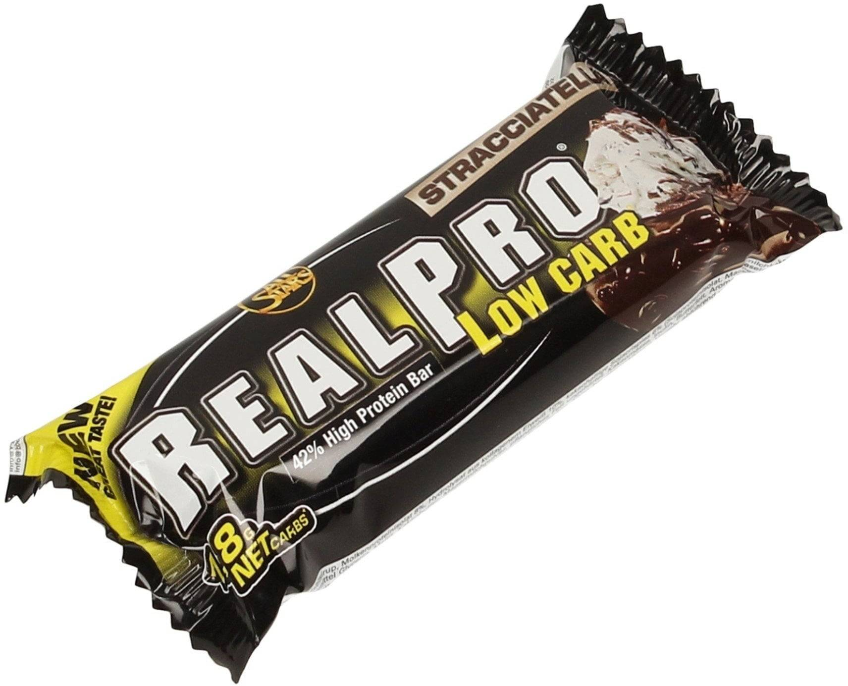 All Stars Realpro Low Carb Barritas - Stracciatella