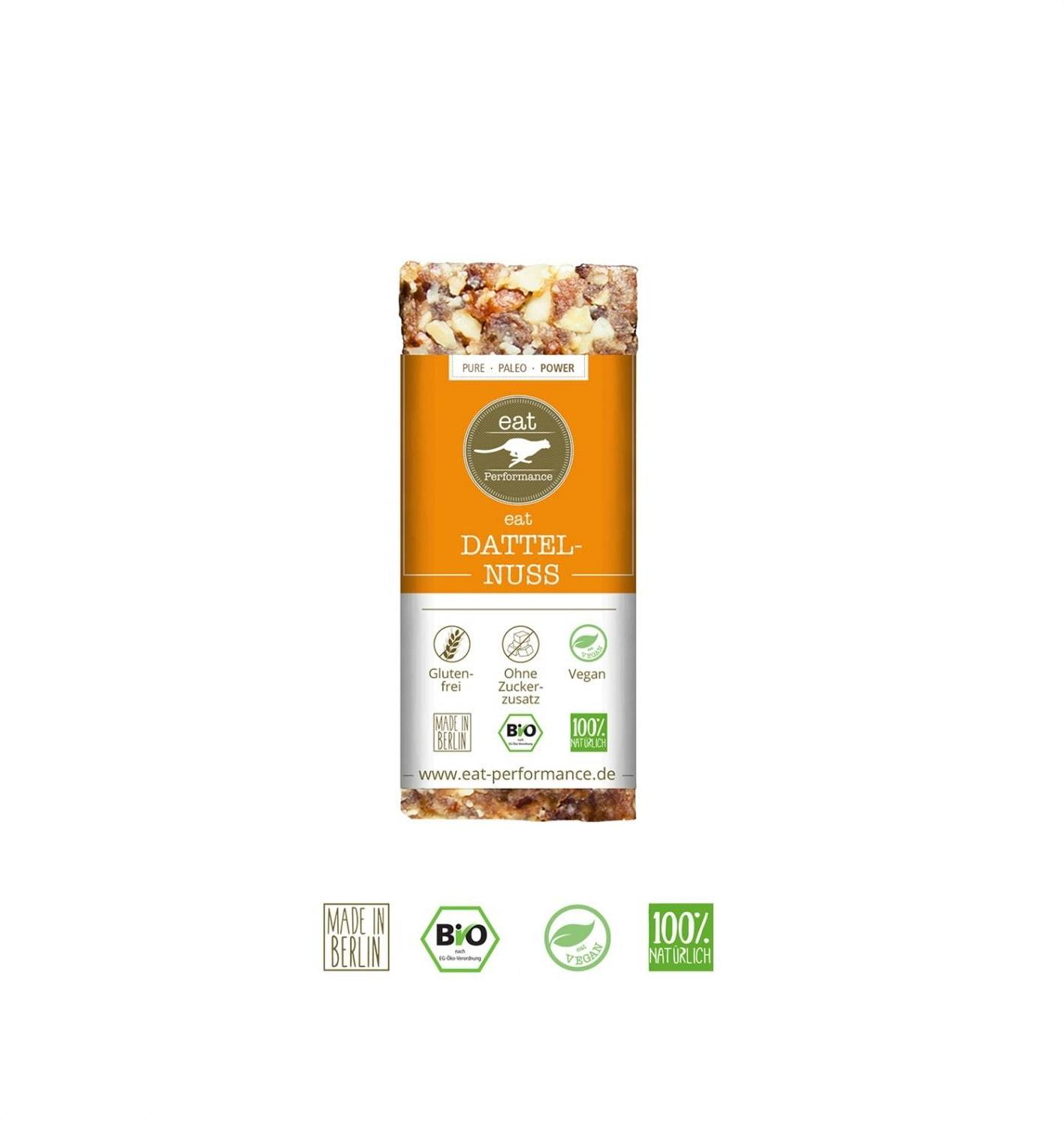 eat performance Barrita Energética Paleo - Date & Nuts