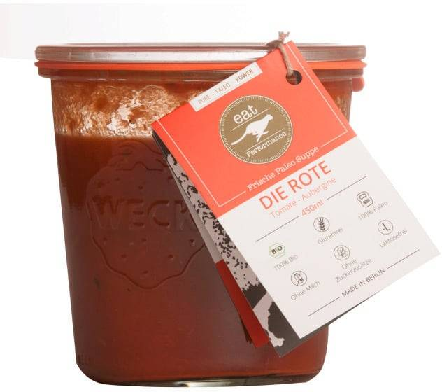 eat performance Soup To Go - Tomate - Berenjena