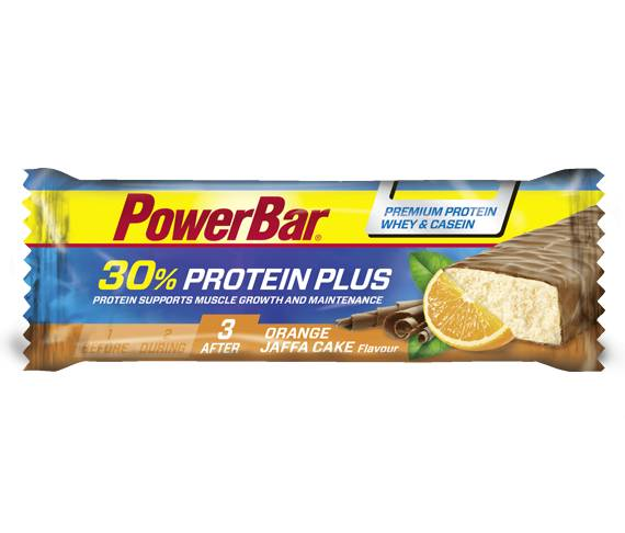 PowerBar Barritas ProteinPlus 30% - Orange Jaffa Cake
