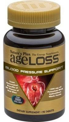Nature's Plus AgeLoss Blood Pressure Support - 90 Tabletas