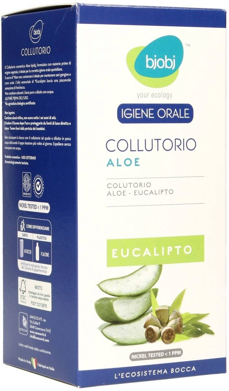 Bjobj Enjuague Bucal - Aloe Vera - 500 ml