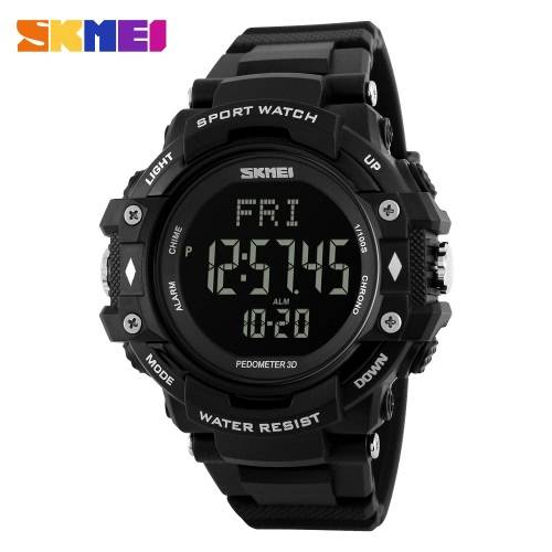 Skmei 3d Pedometer Sports Men Watches