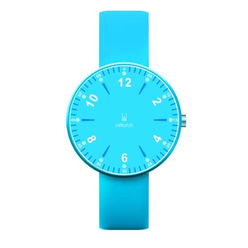 Inwatch Color Sport Pedometer Smart Watch Silicon Band Bluetooth 4.0 Led