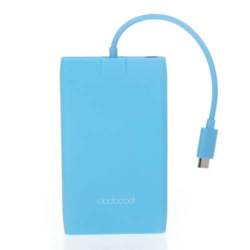 Patented Dodocool Ultrathin 3000mah Power Bank Portable Backup Charger For Samsung Htc Iphone Blue