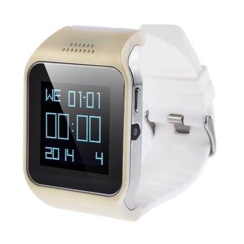 2-In-1 Smart Gsm & Bluetooth Watch Cellphone With Anti-Lost Alarm Touch Screen