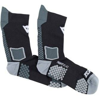 DAINESE Calcetines Dainese D-Core Mid Black / Anthracite