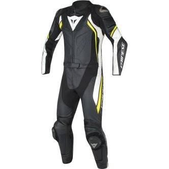 DAINESE Traje / Mono Dainese Avro D2 Black / White / Yellow Fluo