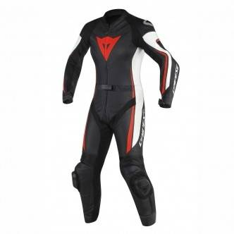 DAINESE Traje / Mono Dainese Assen Lady Black / White / Red Fluo
