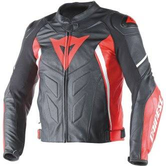 DAINESE Chaqueta Dainese Avro D1 Black / Red / White