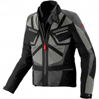 SPIDI Chaqueta Spidi Ventamax H2out Black / Grey