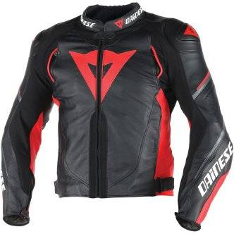 DAINESE Chaqueta Dainese Super Speed D1 Black / Red / Anthracite