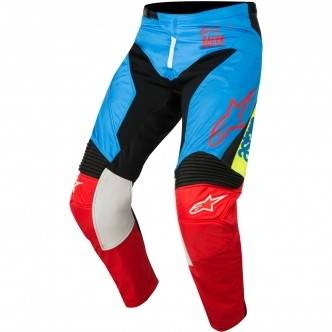 ALPINESTARS Pantalon Alpinestars Racer 2018 Supermatic Aqua / Black / Red