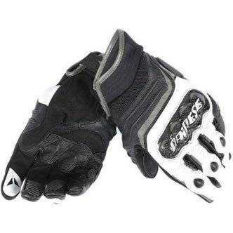 DAINESE Guantes Dainese Carbon D1 Short Black / White / Anthracite