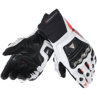 DAINESE Guantes Dainese Race Pro In Black / Fluo-Red / White