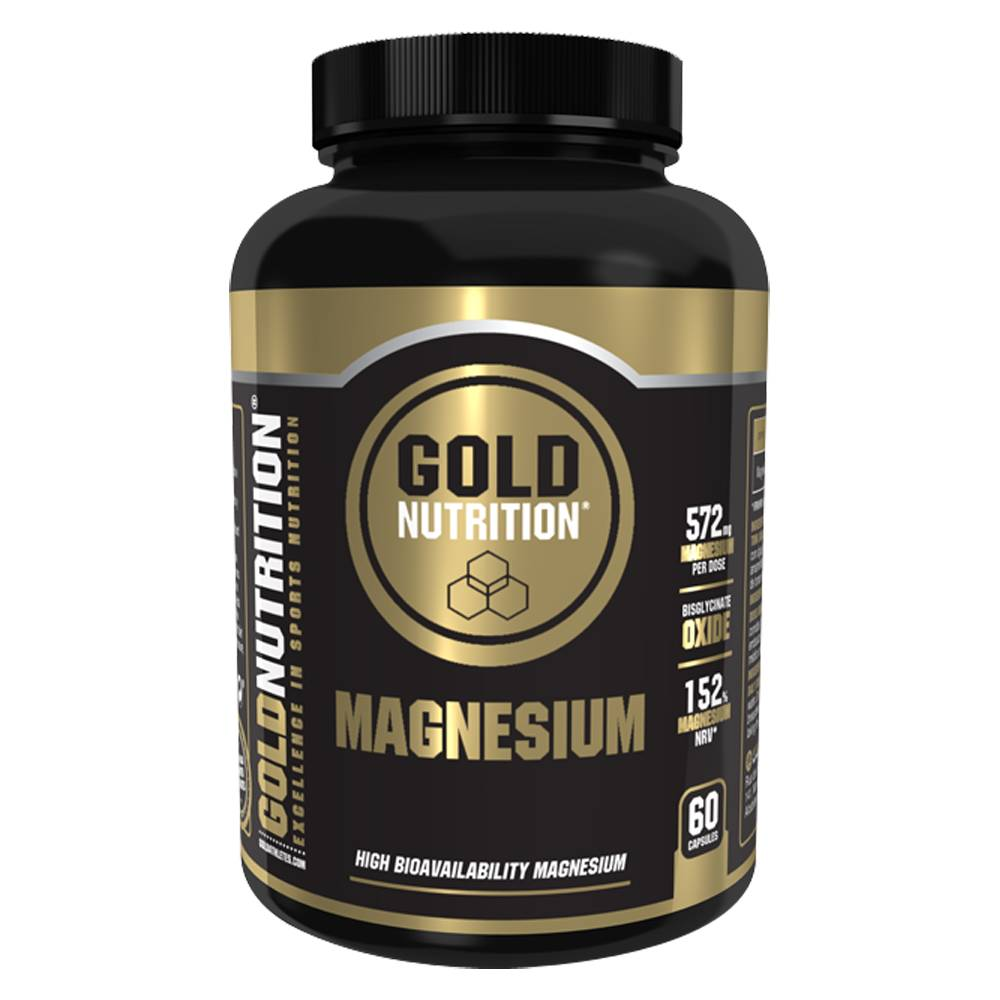 Gold Nutrition Magnesium 600mg 60 Caps